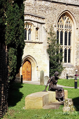 Photograph - St Edmund Of Abingdon Oxford by Terri Waters