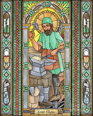 Painting - St. Eligius by Brenda Nippert