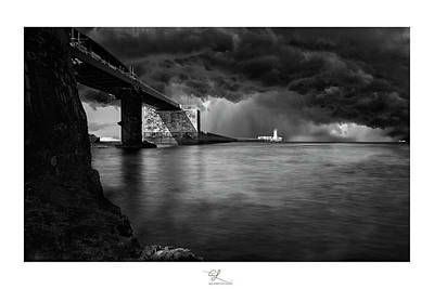 St. Elmo Breakwater Footbridge Art Print