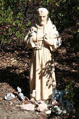 St. Francis At Shasta Original by Holly Ethan