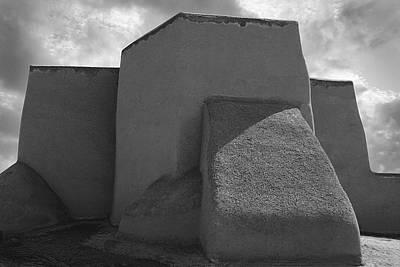 Photograph - St. Francis Church Taos by Kathleen Stephens