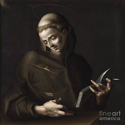 Cosmos Painting - St. Francis by Celestial Images