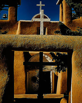 Photograph - St. Francis Gate by Charles Muhle