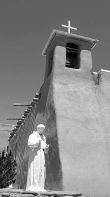 Photograph - St. Francis In Taos by Patricia Januszkiewicz