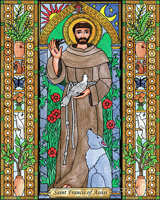 Painting - St. Francis Of Assisi by Brenda Nippert