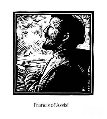 Painting - St. Francis Of Assisi - Jlfoc by Julie Lonneman