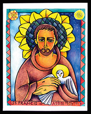 Painting - St. Francis Of Assisi  - Mmfas by Br Mickey McGrath OSFS