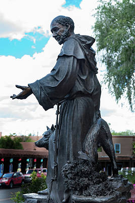 St. Francis Of Assisi Photograph - St Francis Of Assisi - The Cathedral Basilica Of St Francis Of Assisi - Santa Fe - New Mexico by Jon Berghoff