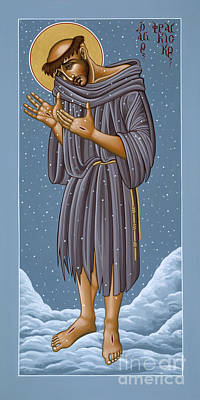 Painting - St Francis Wounded Winter Light 098 by William Hart McNichols