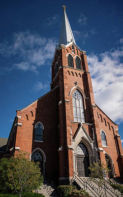 Photograph - St. Francis Xavier Church by Onyonet  Photo Studios