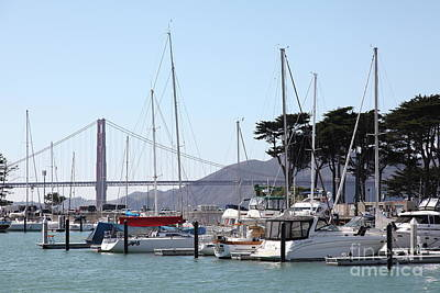 Photograph - St Francis Yacht Club At The San Francisco Marina 5d18265 by San Francisco