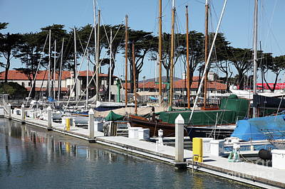 Photograph - St Francis Yacht Club At The San Francisco Marina 5d18267 by San Francisco Art and Photography