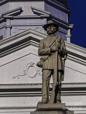 Photograph - St. Francisville Courthouse Two by Ken Frischkorn