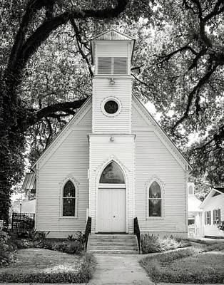 Photograph - St. Francisville United Methodist Church by Andy Crawford