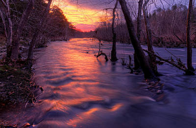 Photograph - St. Francois River by Robert Charity