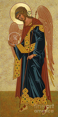 Painting - St. Gabriel Archangel - Jcagb by Joan Cole