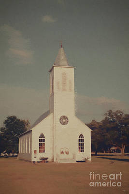 Photograph - St. Gabriel Church - Digital Pencil by Scott Pellegrin