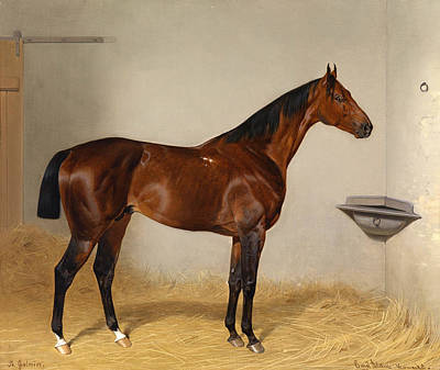 Emil Adam Painting - St Galmier by Emil Adam