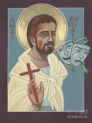 Painting - St Genisius Patron Of Actors 279 by William Hart McNichols
