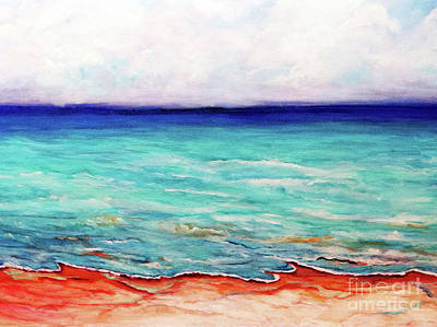 Painting - St. George Island Breeze by Ecinja Art Works