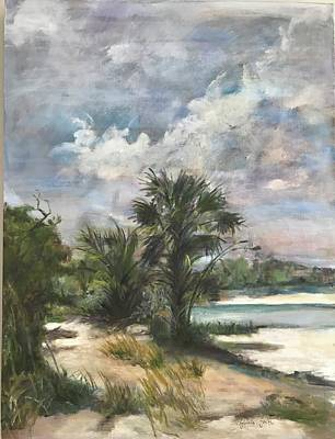 Painting - St. George Island by Gloria Smith