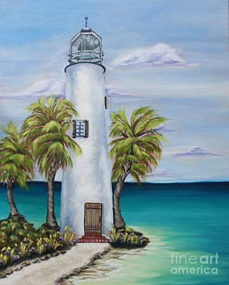 St. George Island Lighthouse Art Print