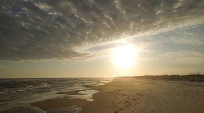 St George Island Sunset I Art Print