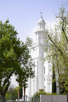 Photograph - St George Lds Temple Utah by rd Erickson