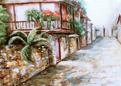 Subtle Drawing - St George Street by Patricia Ducher