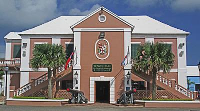 Photograph - St George Townhall Bermuda by Ian  MacDonald