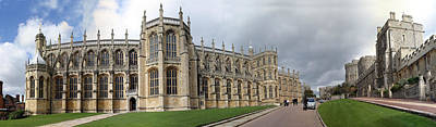 St. George's Chapel Art Print by Gary Lobdell
