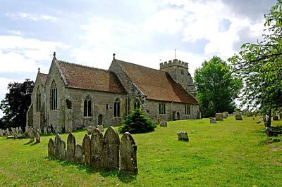 St George's Church At Arreton Art Print