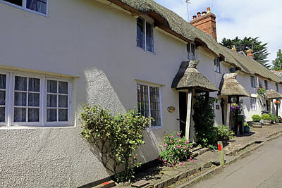 Photograph - St George's Street, Dunster by Tony Murtagh