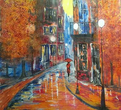 Painting - St Germaine Paris by Judi Goodwin