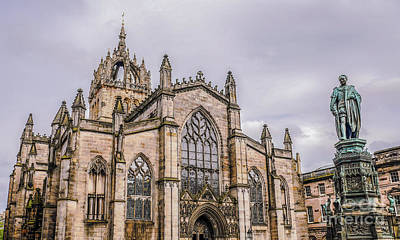 Photograph - St Giles Cathedral Edinburgh 2 by Lexa Harpell