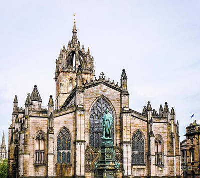 Photograph - St Giles Cathedral Edinburgh by Lexa Harpell