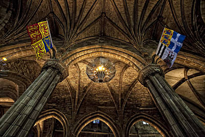 St. Giles Cathedral Art Print by Jim Dohms
