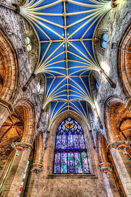 Photograph - St Giles Edinburgh Cathedral by David Pyatt