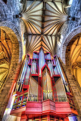 Photograph - St Giles Edinburgh Cathedral Organ by David Pyatt
