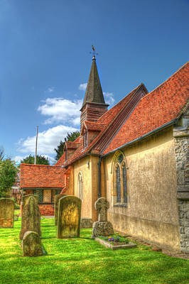 Photograph - St Giles Ickenham by Chris Day