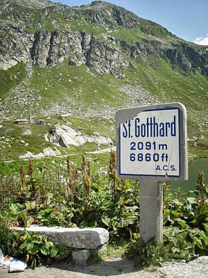 St. Gotthard Art Print by PN Mayes