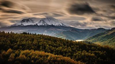 Photograph - St. Helens Wrath by Dan Mihai