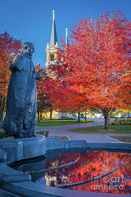 Spokane Photograph - St Ignatius At Gonzaga by Inge Johnsson