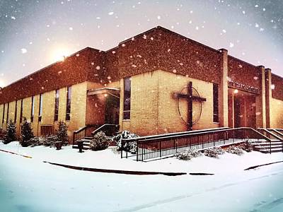 Photograph - St. Isaac Jogues In The Snow by Chris Montcalmo