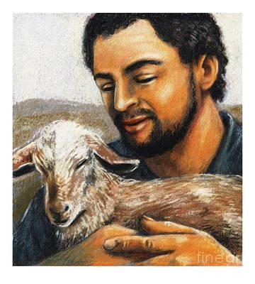 Painting - St. Isidore The Farmer - Jlisf by Julie Lonneman