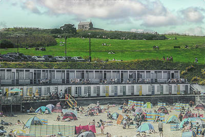 Cornish Wall Art - Photograph - St Ives Cornwall by Martin Newman