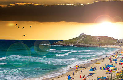 St Ives Cornwall Uk Art Print