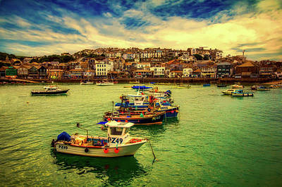 Photograph - St Ives Harbor by Pixabay