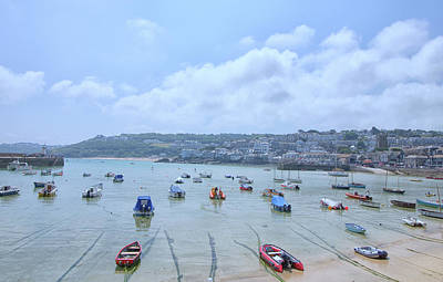 St Ives Wall Art - Photograph - St Ives by Martin Newman