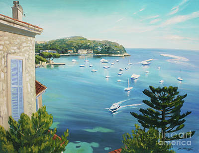 Painting - St Jean Cap Ferrat 2 by Lin Petershagen